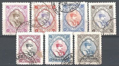 MIDDLE EAST 1940s Reza Shah Pahlavi stamps, fine used #10