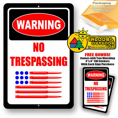 US SELLER new bedroom ideas warning no trespassing joker devil tin metal sign