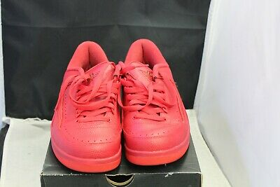 e8f4e4d366a4 NIKE AIR JORDAN RETRO II 2 LOW 832819-606 GYM RED UNIVERSITY RED Size 8.5
