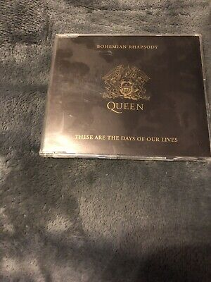 QUEEN ~ Bohemian Rhapsody / These Are The Days Of Our Lives (cd single, 1991)