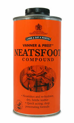 Carr Day & Martin Neatsfoot Compound - Leather/Tack Softening & Restoring Treatm