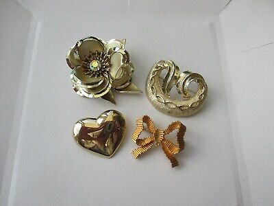 Nice Mixed Lot Of Brooches/pins - Various Era's