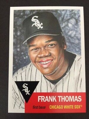 "2018 Topps Living Set Card #133  Frank Thomas AKA :"" The Big Hurt """