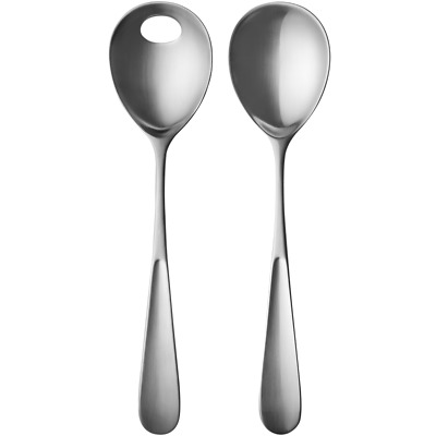 Vivianna by Georg Jensen Stainless Steel Flatware Serving Server Set 2 piece New