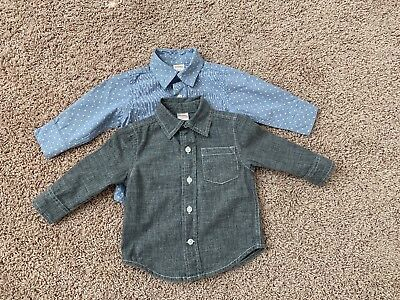 Gymboree 2 Shirts Size 6-12 Months In Good Condition!