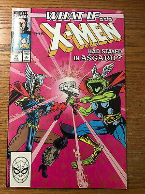 What If #12 Vol 2 Marvel Comics 1990 VF/NM The X-men had Stayed in Asgard