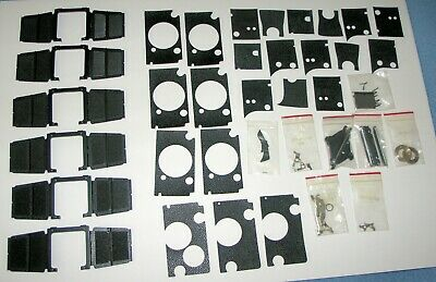 Large Lot Rolei Rolleiflex Rolleicord Parts~Skin Leather~Viewfinder Housing~NEW