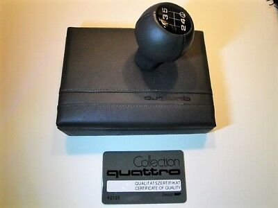 Original AUDI QUATTRO Collection, Business-Cards & Note-Pad Box; Best condition!