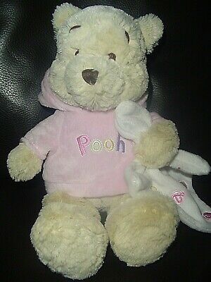Disney Store Exclusive soft toy Winnie The Pooh comforter plush