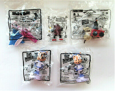Lot of 5 Carls Hardees Fast Food Premiums Dare Devil Dog Duck Dodgers Shark Tale