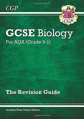 New Grade 9-1 GCSE Biology: AQA Revision Guide with Online Edition, CGP Books, G