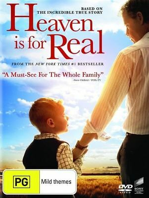 Heaven Is For Real (DVD, 2018) Pal Region 2-4-5 Brand New Sealed Free Postage