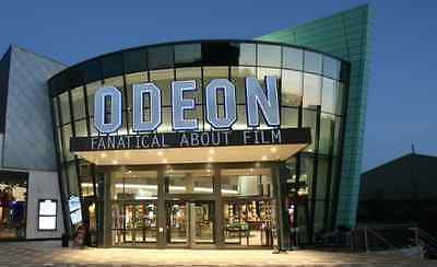 2-for-1 Odeon Cinema tickets code Sat/Sun/Mon 16th 17th or 18th February 2019