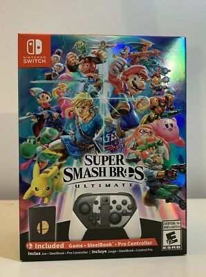 Super Smash Bros Ultimate Special Edition Limited Nintendo Switch Limited NEW