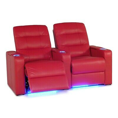 Surprising Pemberly Row 3 Seat Leather Reclining Home Theater Seating Caraccident5 Cool Chair Designs And Ideas Caraccident5Info