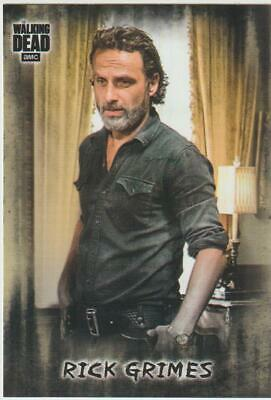 2018 Walking Dead Hunters and the Hunted Rick Grimes Photo Variation SP