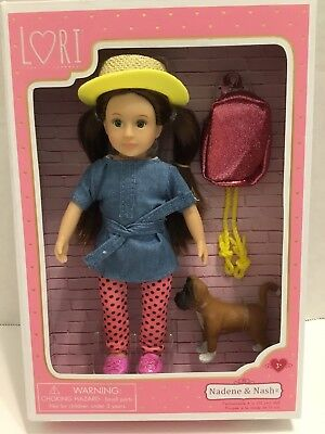 """Lori 6/"""" DOLL by Our Generation GIA Doll /& GUNNER her Dalmatian Pup"""