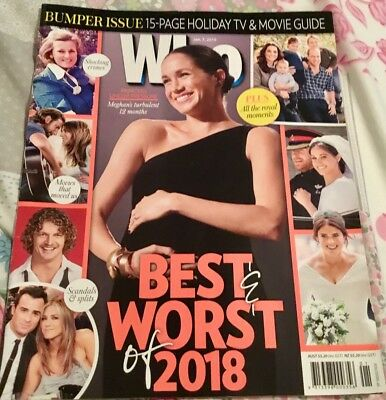 Who Magazine January 7th 2019 issue