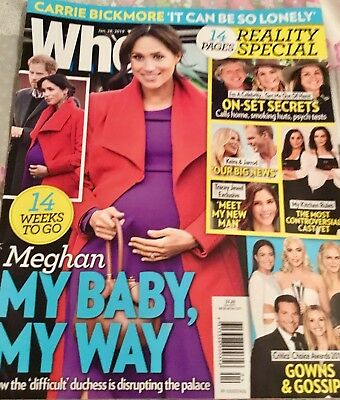 Who Magazine January 28th 2019 issue
