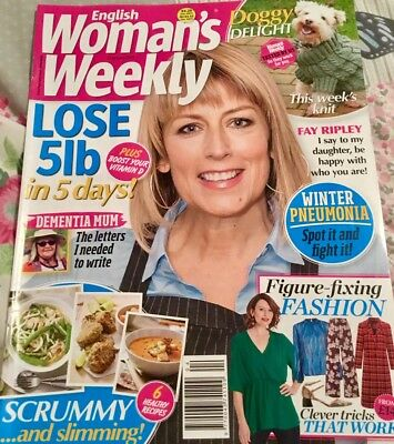 English Woman's Weekly January 22nd 2019 issue