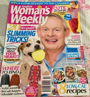 English Woman's Weekly January 8th 2019 issue