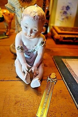 """Porcelain Piano Doll    7"""" Height"""