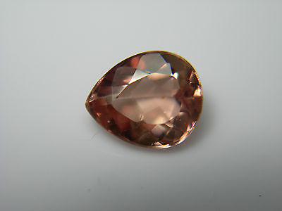 very rare Pink Peach Imperial Topaz gem Natural Untreated Brazil pinkish 0.86cts