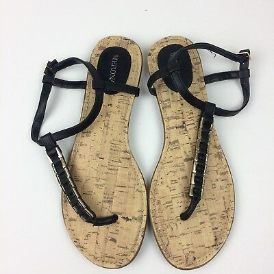 ee656a54d607 Merona Womens Ankle Strap Sandals Size 9 Cute Vacation Beach Date Night
