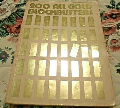 200 All Gold Blockbusters Songbook, 1977