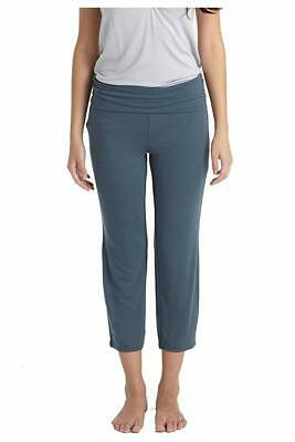 630d798d5b0 Mothers en Vogue NEW Blue Womens Size Large L Solid Stretch Pants $79- 778