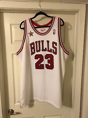size 40 2f56b 79030 MITCHELL & NESS Michael Jordan 1998 All-Star Jersey Size 56 (100% Authentic)
