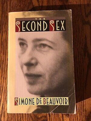 THE SECOND SEX  by Simone de Beauvoir  1989 softcover CLASSIC OF FEMINISM