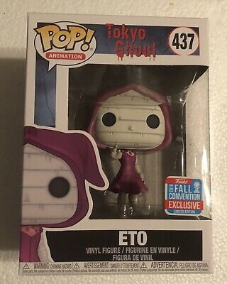 Funko Pop Animation Tokyo Ghoul Eto #437 2018 NYCC Exclusive With Protector
