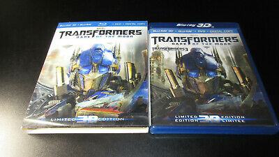 Transformers Dark Of The Moon 3D Blu-ray with lenticular slip cover