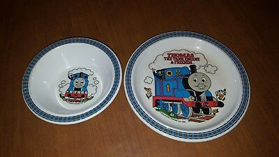 Feeding 1992 Vintage Thomas The Tank Train Melamine Plastic Bowl Allcroft By Eden Bowls & Plates