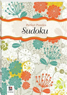 NEW Sudoku Perfect Number Puzzles Paperback Gift Book 192 Pages by Hinkler Books