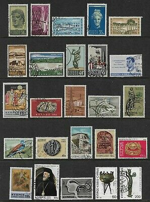 CYPRUS mixed collection No.9, 1962-1980, used