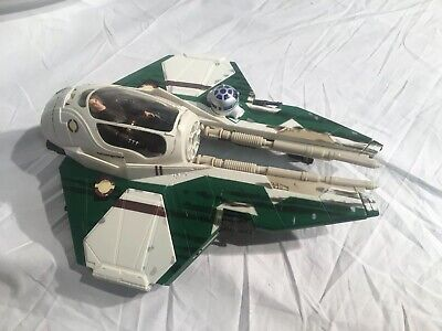 Star Wars Revenge Of The Sith Anakin's Green Jedi Starfighter