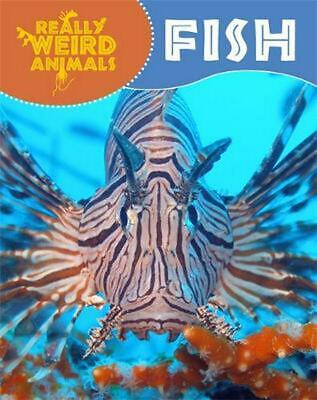 Really Weird Animals: Fish by Clare Hibbert Paperback Book Free Shipping!
