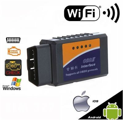 Interface Elm327 Wifi Bluetooth Obdii Multimarques Obd Obd2 - Valise Scanner