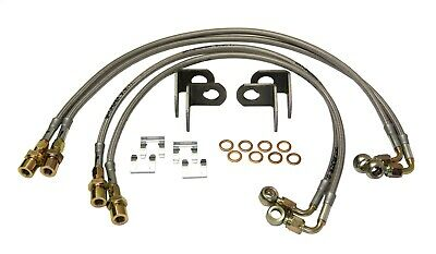 Skyjacker JKBL60 Stainless Steel Brake Line Set Fits 07-18 Wrangler (JK)