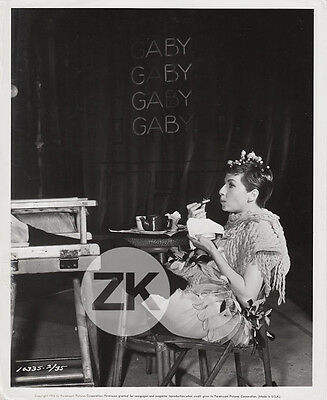 ZIZI JEANMAIRE Musical QUADRILLE D'AMOUR Snack GABY Tournage Photo 1956