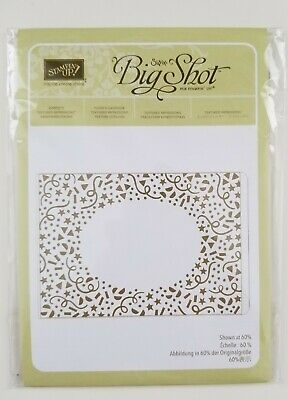 Stampin Up Embossing Folder Confetti Birthday Party Sizzix Textured Impressions
