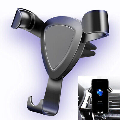 360° Universal Gravity Car Mount Air Vent Holder Stand For Phone GPS iphone X/8