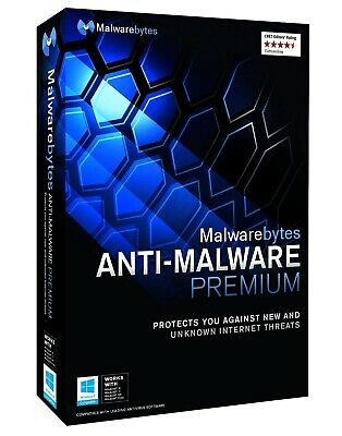 Malwarebytes Anti-Malware Premium LICENSE KEY CODE | INSTANT DELIVERY | 1 PC
