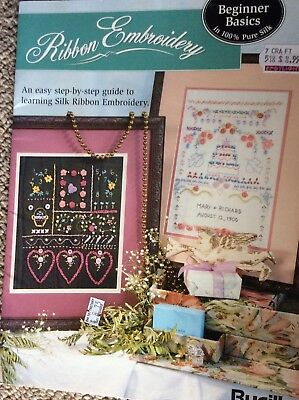 Bucilla Ribbon Embroidery Pattern Book Step By Step Guide