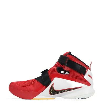 online store 9a5db 12103 Nike Lebron Soldier Men s Basketball Shoes, Red White