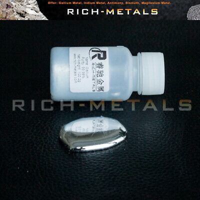 200grams galllium metal 99.99% pure 4N from Rich metals Element 31 by DHL