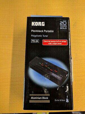 Korg PB-04 Pitchblack Portable Tuner