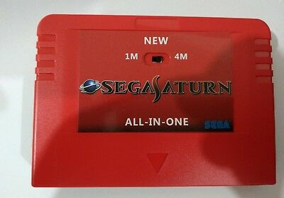 Sega Pseudo Saturn with 4M Extension RAM Cartriage Console Game Japan Casing